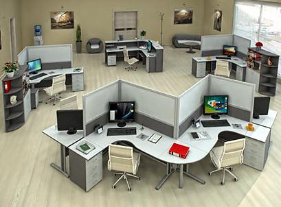 Изготовление мебели для сотрудников