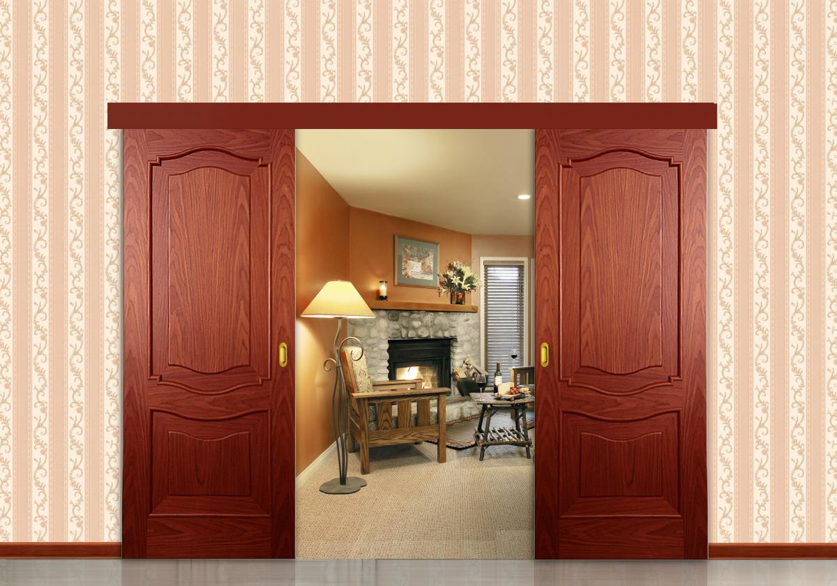 Как сделать двойные двери